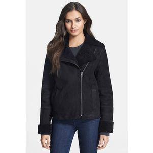 Vince Genuine Shearling Jacket Coat NWT